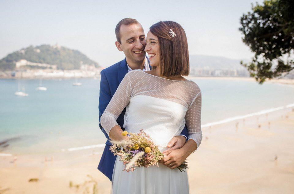 Reportaje de boda en San Sebastián | TakkStudio Fotografía
