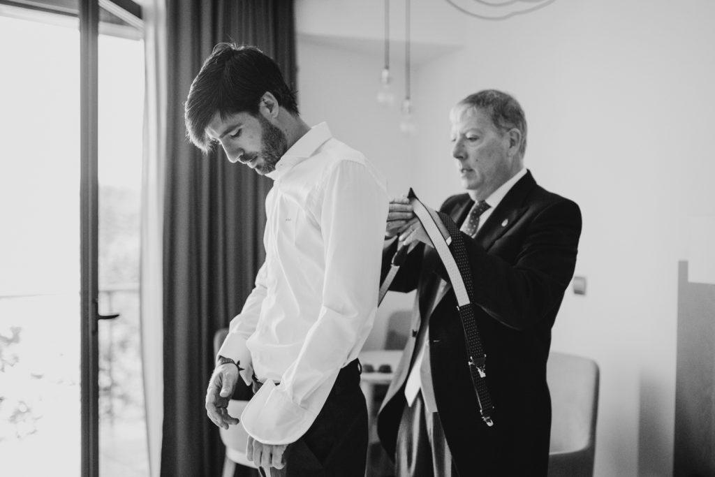 Preparativos reportajes de boda