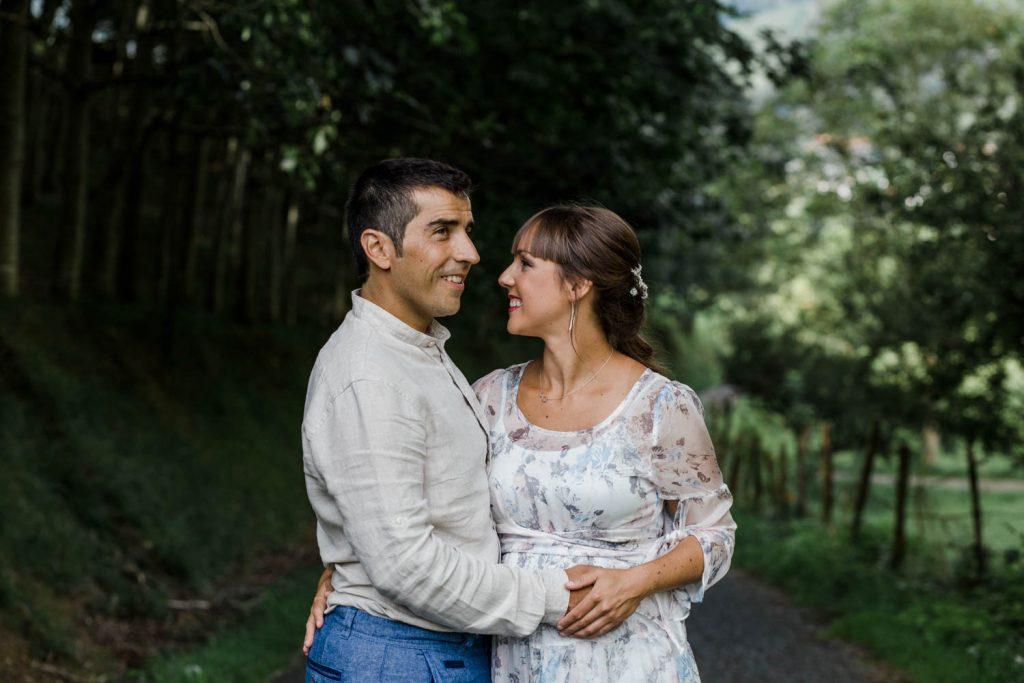 Fotografía de boda en Bidania